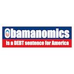 Obamanomics Bumper Sticker (10 pk)