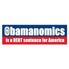Obamanomics Bumper Bumper Sticker