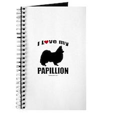 I Love my Papillion ~ Journal