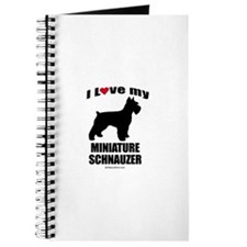 I Love my Schnauzer ~ Journal