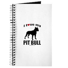 I Love my Pit Bull ~ Journal