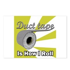 Duct Tape is How I Roll Postcards (Package of 8)