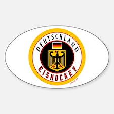 Germany Hockey(Deutschland) Sticker (Oval)