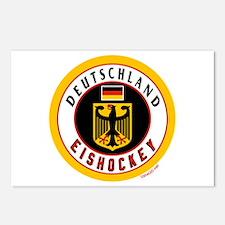 Germany Hockey(Deutschland) Postcards (Package of