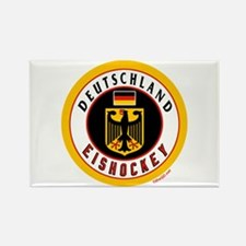 Germany Hockey(Deutschland) Rectangle Magnet