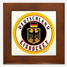Germany Hockey(Deutschland) Framed Tile