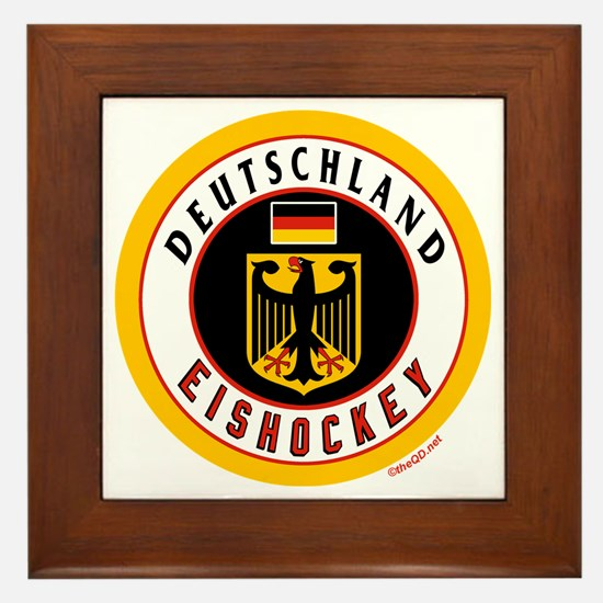 Germany Hockey(Deutschland) Framed Tile