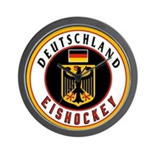 Germany Hockey(Deutschland) Wall Clock