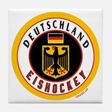 Germany Hockey(Deutschland) Tile Coaster