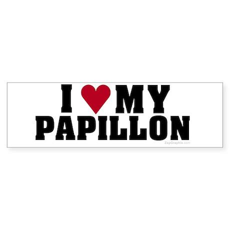 I Love My Papillon
