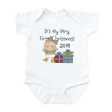 Girl First Christmas 2014 Infant Bodysuit