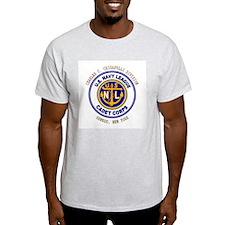 Navy League Color - CCC Divis Ash Grey T-Shirt