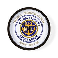 Navy League Color - CCC Divis Wall Clock