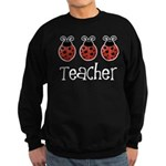 Ladybug Teacher Sweatshirt (dark)