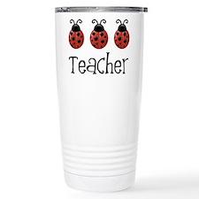 Ladybug Teacher Travel Mug