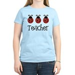 Ladybug Teacher Women's Light T-Shirt