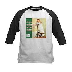 Puppy Lover Kids Baseball Jersey