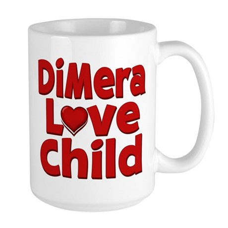 DiMera Love Child Large Mug