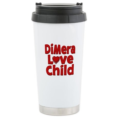 DiMera Love Child Stainless Steel Travel Mug