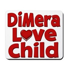 DiMera Love Child Mousepad