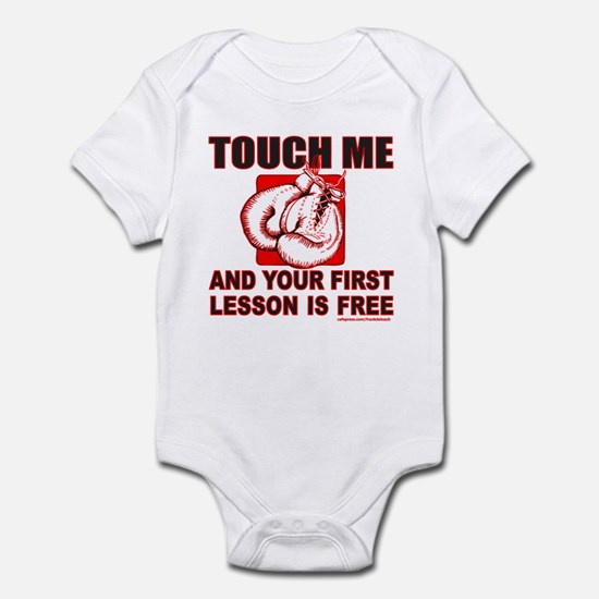 BOXING GLOVES Infant Bodysuit
