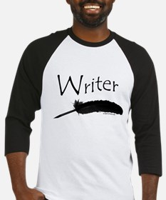 Writer with quill pen Baseball Jersey