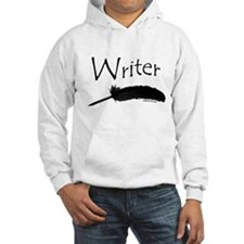 Writer with quill pen Jumper Hoody