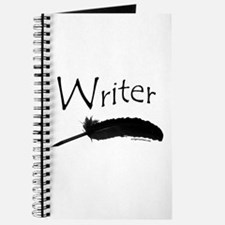 Writer with quill pen Journal