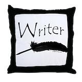 Writers Throw Pillows