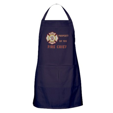 Fire Chief Property Apron (dark)