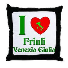 Friuli Venezia Giulia Italy Throw Pillow