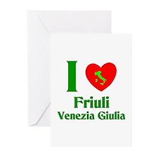 Friuli Venezia Giulia Italy Greeting Cards (Packag
