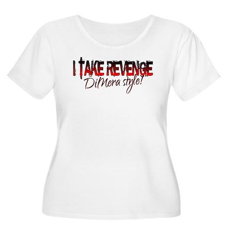 Revenge - DiMera Style Women's Plus Size Scoop Nec