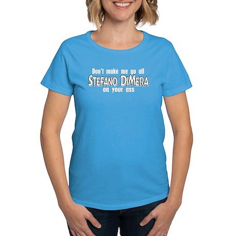 Stefano DiMera Women's Dark T-Shirt
