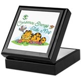 Garfield Square Keepsake Boxes