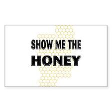 Honey Show Rectangle Decal
