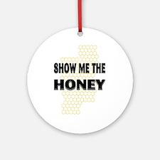 Honey Show Ornament (Round)