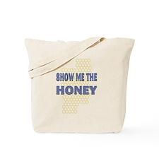 Honey Show Violet Tote Bag
