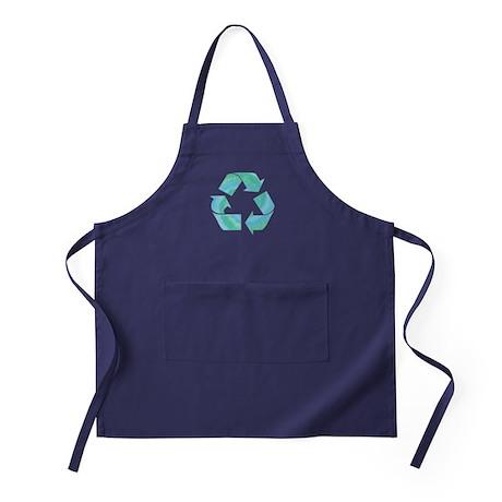 Tie Dye Recycle Apron (dark)