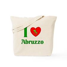 I Love Abruzzo Italy Tote Bag