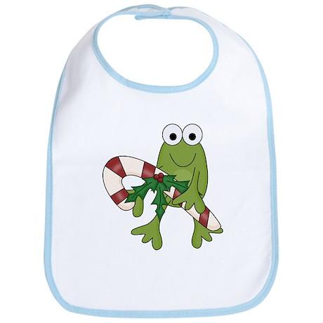Froggy Christmas Bib