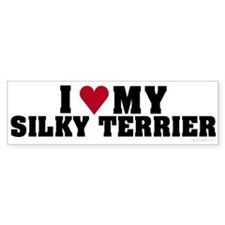 I Love My Silky Terrier