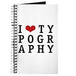 I Heart Typography Journal