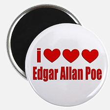 I Heart Poe Magnet