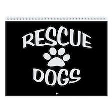 Rescue Dogs Calendar Wall Calendar