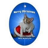 Devon rex christmas Ornaments