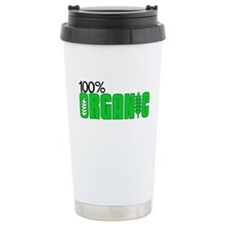 100 Percent Organic Travel Mug