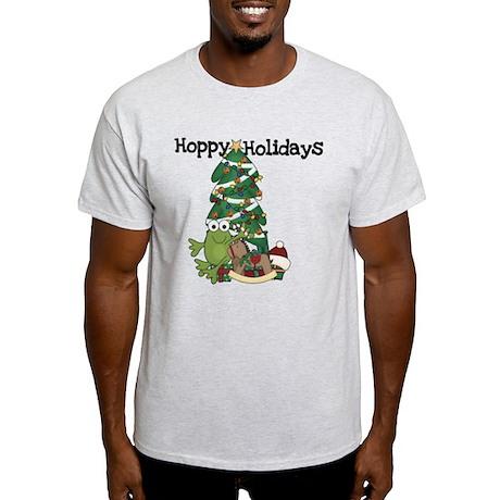 Frog Hoppy Holidays Light T-Shirt