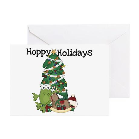 Frog Hoppy Holidays Greeting Cards (Pk of 10)