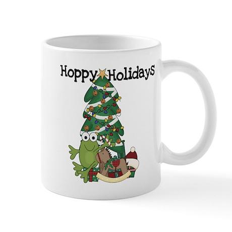Frog Hoppy Holidays Mug